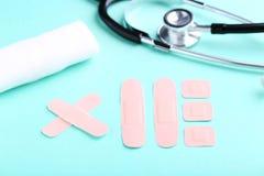 ιατρικά ασβεστοκονιάμα&tau Στοκ εικόνα με δικαίωμα ελεύθερης χρήσης