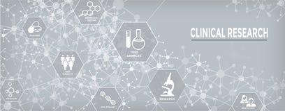 Ιατρικά εικονίδια υγειονομικής περίθαλψης με τους ανθρώπους που σχεδιάζουν την ασθένεια/Scientif απεικόνιση αποθεμάτων