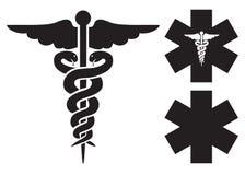 Ιατρικά σημάδια Στοκ φωτογραφίες με δικαίωμα ελεύθερης χρήσης