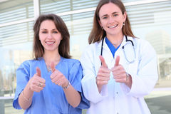 ιατρικές γυναίκες ομάδω&nu Στοκ Εικόνα