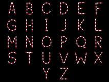 Ιατρικές επιστολές αλφάβητου καψών στοκ φωτογραφία