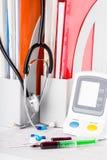 Ιατρικές σύριγγες Στοκ Εικόνα