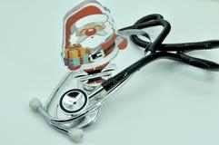 Ιατρικές όργανα και κάρτα Στοκ εικόνες με δικαίωμα ελεύθερης χρήσης