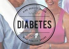 Ιατρική έννοια ασθενειών ινσουλίνης ζάχαρης αίματος διαβήτη Στοκ εικόνα με δικαίωμα ελεύθερης χρήσης