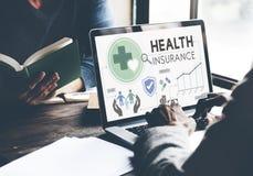 Ιατρική έννοια ασφάλειας κινδύνου διαβεβαίωσης ασφάλειας υγείας στοκ φωτογραφία με δικαίωμα ελεύθερης χρήσης