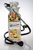 ιατρική αναδρομική Στοκ Εικόνες