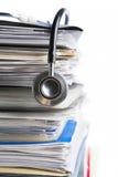ιατρική αναφορά Στοκ φωτογραφίες με δικαίωμα ελεύθερης χρήσης