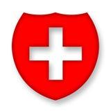 ιατρική ασπίδα Στοκ φωτογραφία με δικαίωμα ελεύθερης χρήσης