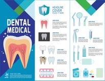 Ιατρική διανυσματική infographic απεικόνιση σχεδίου στοιχείων υγείας απεικόνιση αποθεμάτων