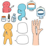 Ιατρική εγχύσεων Στοκ Εικόνα