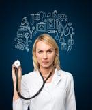 Ιατρική εξέταση Στοκ Εικόνες