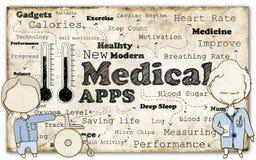 Ιατρική επανάσταση διανυσματική απεικόνιση