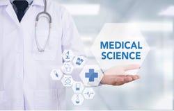 Ιατρική επιστήμη Στοκ φωτογραφία με δικαίωμα ελεύθερης χρήσης