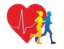 Ιατρική καρδιών Στοκ Εικόνες