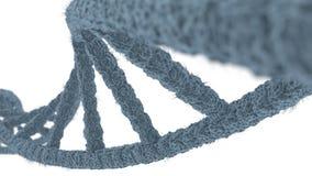 Ιατρική κινηματογράφηση σε πρώτο πλάνο του DNA Στοκ Εικόνες
