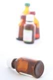 ιατρική μπουκαλιών Στοκ εικόνες με δικαίωμα ελεύθερης χρήσης