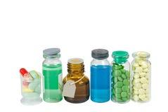 ιατρική μπουκαλιών Στοκ Φωτογραφία