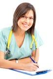 ιατρική νοσοκόμα Στοκ φωτογραφίες με δικαίωμα ελεύθερης χρήσης