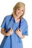 ιατρική νοσοκόμα Στοκ εικόνες με δικαίωμα ελεύθερης χρήσης