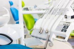 Ιατρική, οδοντίατρος, στοματολογία, οδοντική καρέκλα στοκ φωτογραφίες με δικαίωμα ελεύθερης χρήσης