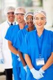Ιατρική ομάδα ερευνητών στοκ εικόνες