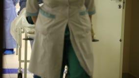 Ιατρική ομάδα απόθεμα βίντεο