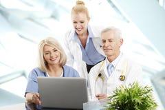 Ιατρική ομάδα Στοκ Εικόνες