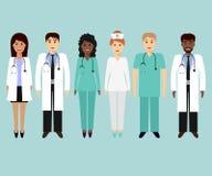 Ιατρική ομάδα απεικόνιση αποθεμάτων