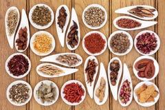 Ιατρική παραδοσιακού κινέζικου Στοκ Εικόνα