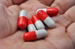 Ιατρική φαρμάκων χαπιών καψών Στοκ εικόνα με δικαίωμα ελεύθερης χρήσης