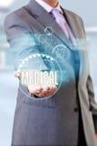 Ιατρική φροντίδα χεριών γιατρών στοκ φωτογραφία με δικαίωμα ελεύθερης χρήσης