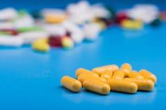 ιατρική χάπια ή κάψα Στοκ Εικόνες