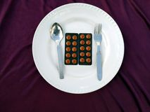 Ιατρική χαπιών αντιβιοτικών φαρμακευτικών ειδών στοκ φωτογραφίες