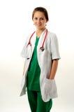 ιατρική όμορφη γυναίκα Στοκ Εικόνες