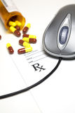 ιατρική on-line στοκ φωτογραφία