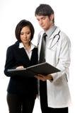 Ιατρικοί επαγγελματίες στοκ φωτογραφίες