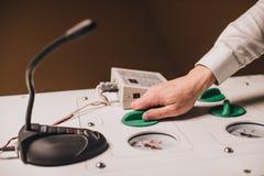 Ιατρικός εξοπλισμός καθιέρωσης χεριών στοκ εικόνες με δικαίωμα ελεύθερης χρήσης