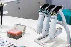 Ιατρικός εξοπλισμός στην έκθεση Στοκ Εικόνες