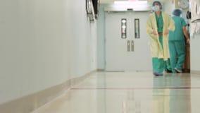 Ιατρικός διάδρομος 6 11 απόθεμα βίντεο