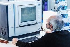Ιατρικός και εργαστηριακός εξοπλισμός στην έκθεση Στοκ φωτογραφίες με δικαίωμα ελεύθερης χρήσης
