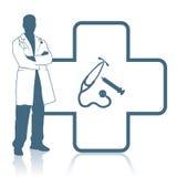 Ιατρικό έμβλημα Στοκ Εικόνες