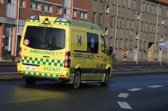 Ιατρικό ασθενοφόρο Στοκ Φωτογραφία