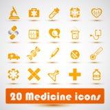 Ιατρικό εικονίδιο (2) Στοκ εικόνες με δικαίωμα ελεύθερης χρήσης