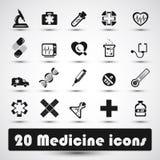 Ιατρικό εικονίδιο (2) Στοκ Εικόνες
