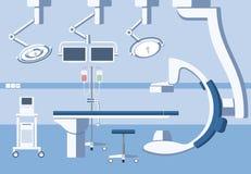 Ιατρικό λειτουργούν δωμάτιο χειρουργικών επεμβάσεων νοσοκομείων, θέατρο Στοκ Φωτογραφία