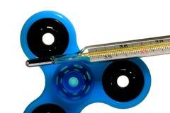 Ιατρικό θερμόμετρο υδραργύρου, δημιουργικό σύνολο Στοκ Εικόνες