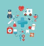 Ιατρικό διάνυσμα έννοιας Στοκ φωτογραφία με δικαίωμα ελεύθερης χρήσης