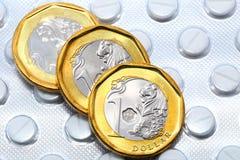 Ιατρικό κόστος Στοκ φωτογραφία με δικαίωμα ελεύθερης χρήσης