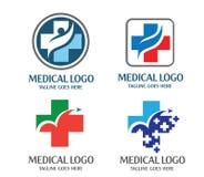 Ιατρικό λογότυπο Στοκ εικόνα με δικαίωμα ελεύθερης χρήσης