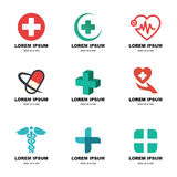 Ιατρικό λογότυπο Στοκ Εικόνες